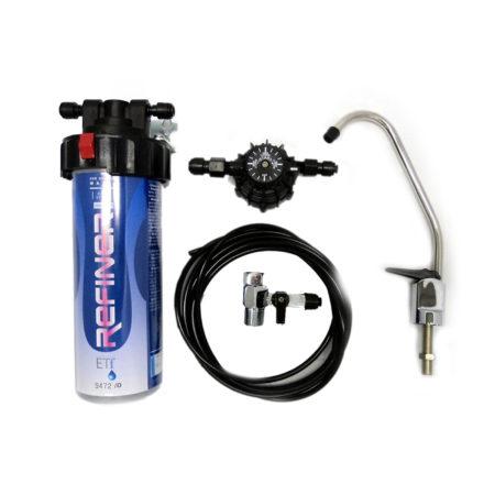 Filtro Refiner RS 350 completo di kit installazione e fontanina