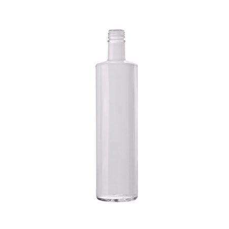 Bottiglia neutra mod. Silhouette 75cl BIANCA - Idrika