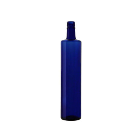 Bottiglia neutra mod. Silhouette 75cl BLUE - Idrika