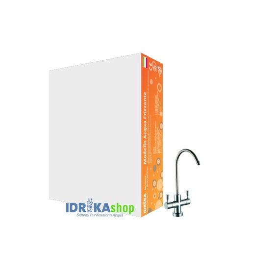 Idrika Shop - Depuratore Acqua Idrika a Microfiltrazione Everpure sotto lavello - Acqua Liscia e Gassata